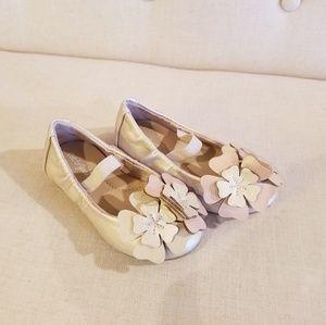 Cat & Jack flower ballet flats